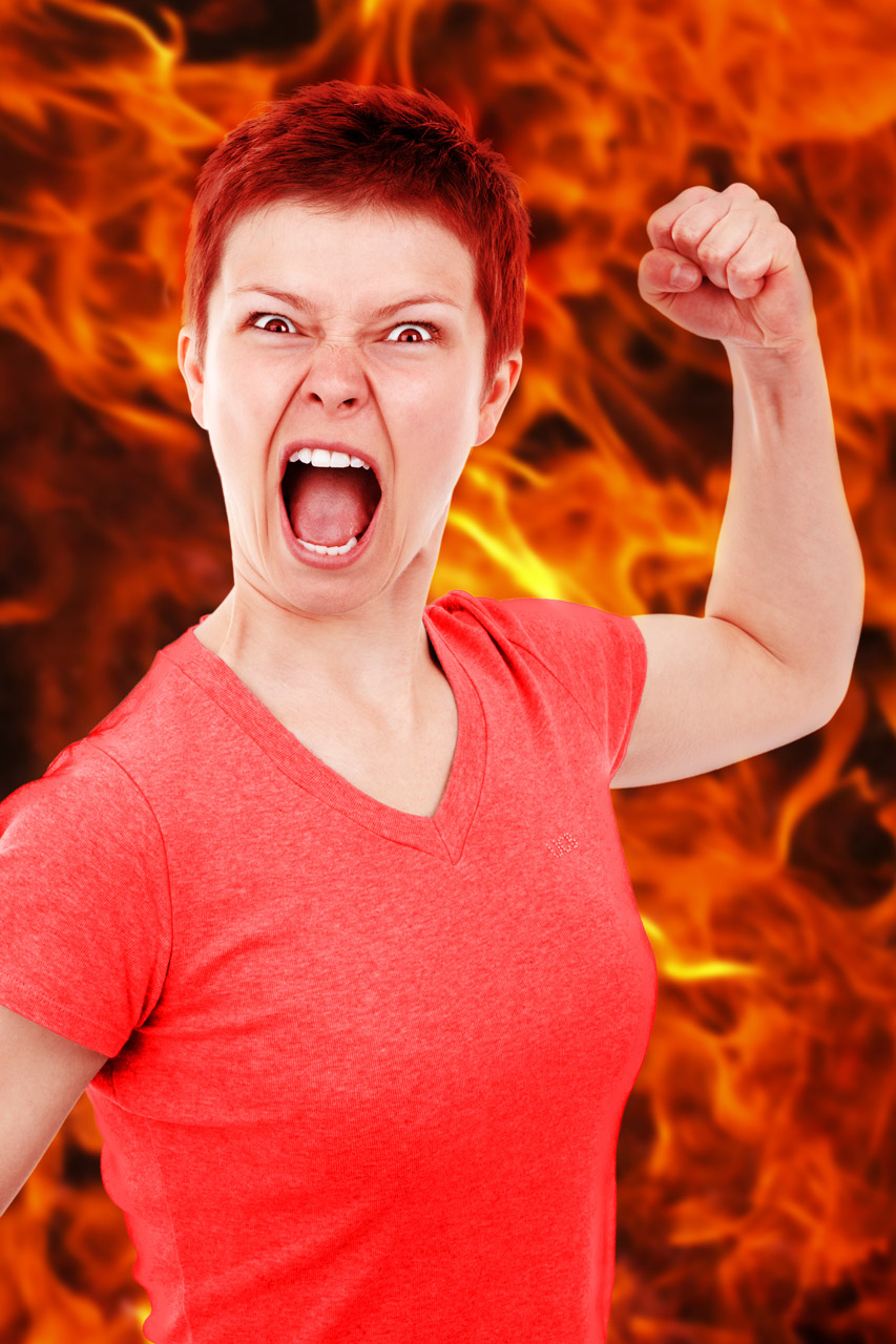 woman-on-fire